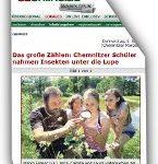 Screenshot der Sächsischen Zeitung, Link führt zum Online-Artikel