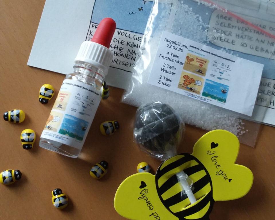 """Das Notfall-Kit vom Freundeskreis """"Fliegende Vielfalt"""""""